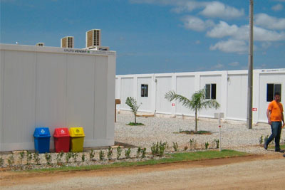 Aluguel de Estruturas para Canteiro de Obras