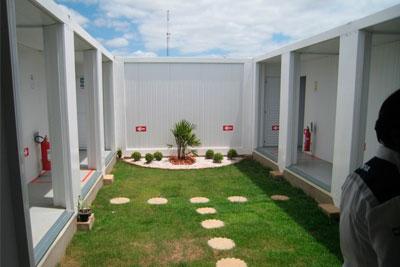 Aluguel de Módulo Habitacional