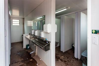 Banheiros para Canteiro de Obras